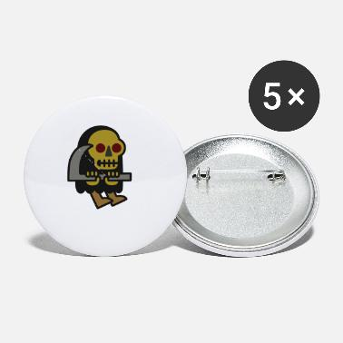 Reaper Wear Grim Reaper Guy - Small Buttons