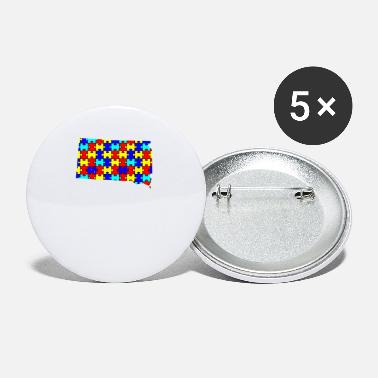 Autism Awareness South Dakota - Autism Awareness - Small Buttons