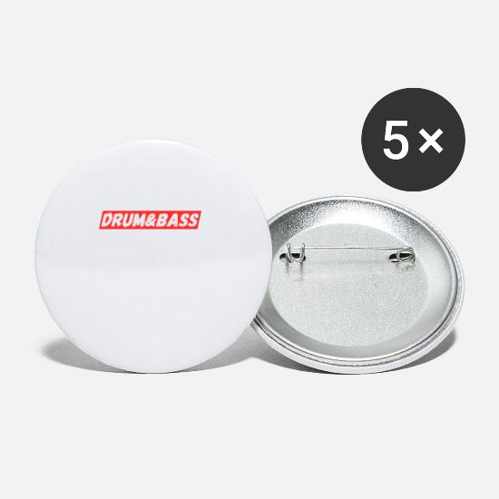 Drums Buttons - Drum&Bass - Small Buttons white