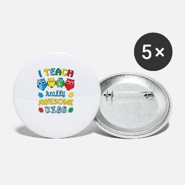 Autism Awareness Autism Teacher Autism Awareness - Small Buttons