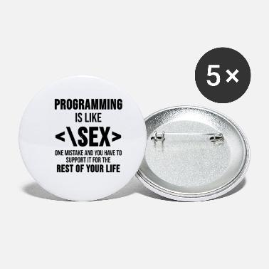 Program-what-you-do Computer science Programmer Coder Programming Gift - Small Buttons