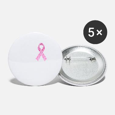 Awareness Faith Hope Love Breast Cancer Awareness Pink - Small Buttons
