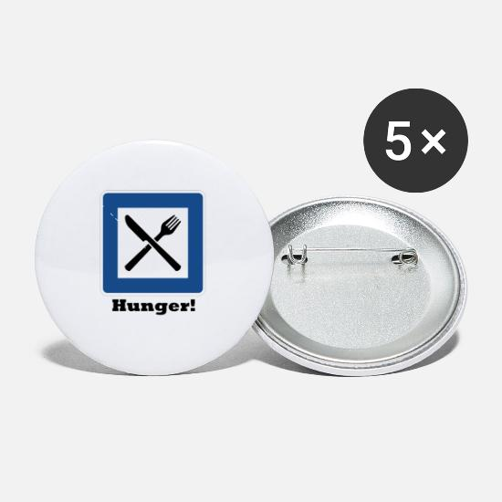 New Buttons - Hunger! - Small Buttons white