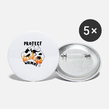 Protect Protect Wildlife - Small Buttons
