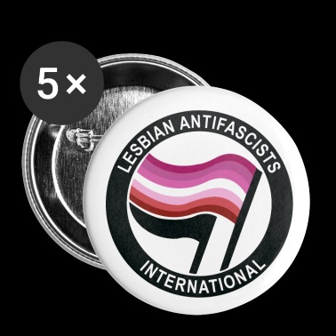 lesbian antifa - Small Buttons