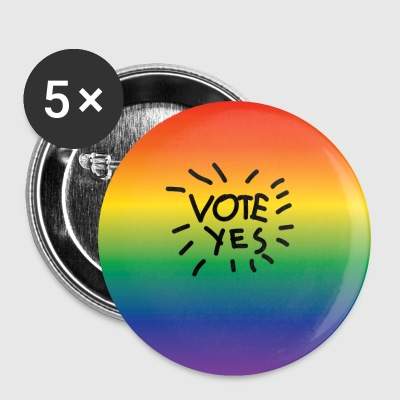 Vote Yes for Same Sex Marriage! - Small Buttons