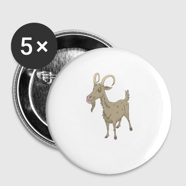 Goat - Small Buttons