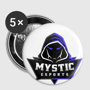 Mystic eSports Logo Purple - Small Buttons