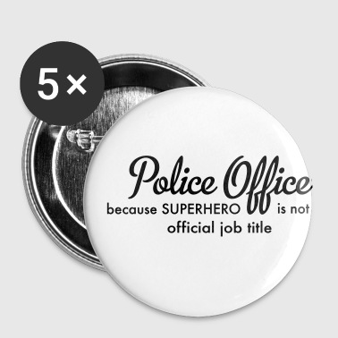 police officer - Small Buttons