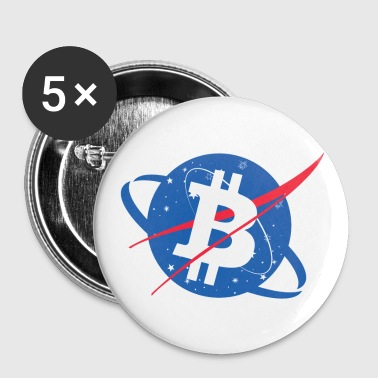 Bitcoin NASA - Small Buttons
