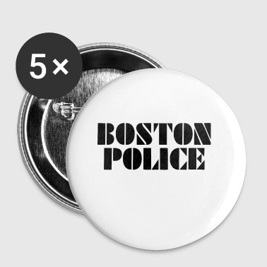 boston police - Small Buttons