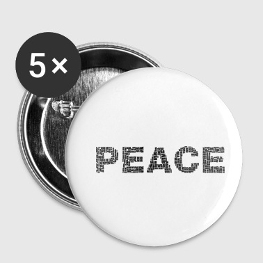 peace-war - Small Buttons