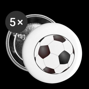 Soccer Ball - Small Buttons