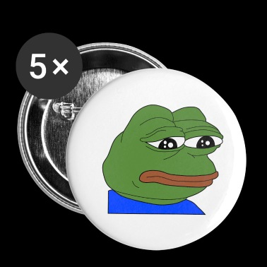 pepe meme sad pepe - Small Buttons
