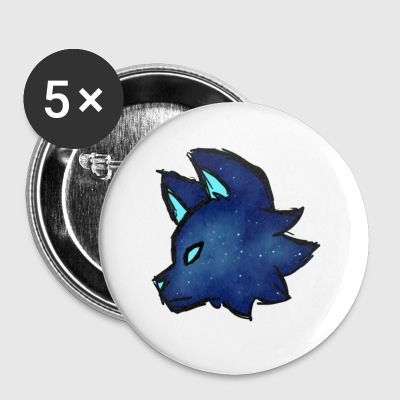 Galaxy Wolf - Small Buttons