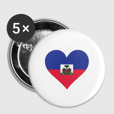 A Heart For Haiti - Small Buttons