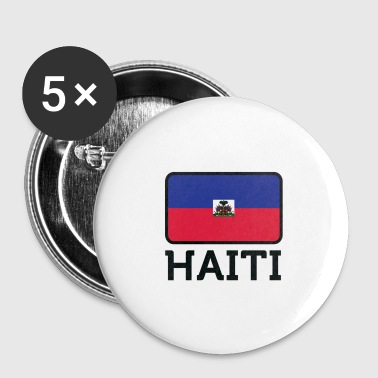 National Flag Of Haiti - Small Buttons