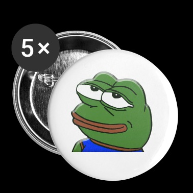 Incredulous Pepe - Small Buttons