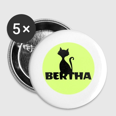 Bertha name first name - Small Buttons