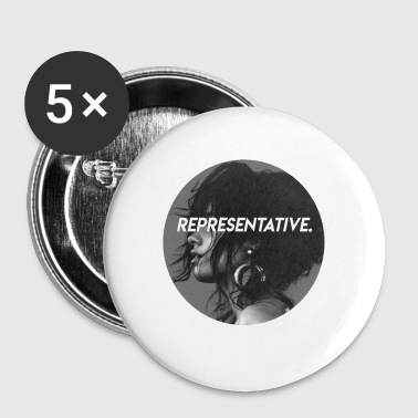 cabello representative - Small Buttons