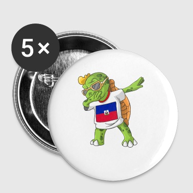 Haiti Dabbing Turtle - Small Buttons