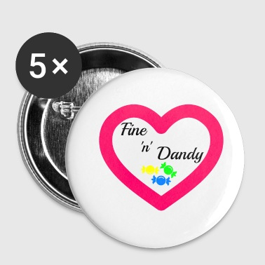 Fine 'n' Dandy - Small Buttons