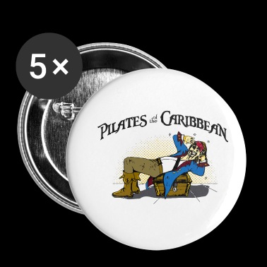 Pilates of the Caribbean - Small Buttons