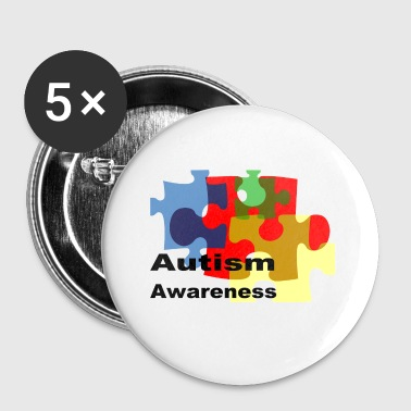 Autism awareness - Small Buttons