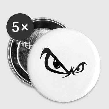 angry eyes - Small Buttons
