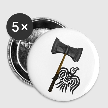 Viking War Hammer - Small Buttons
