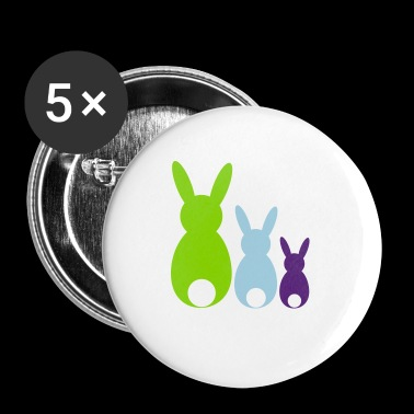 Easter bunnys - Small Buttons