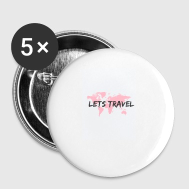 Let's travel - Small Buttons