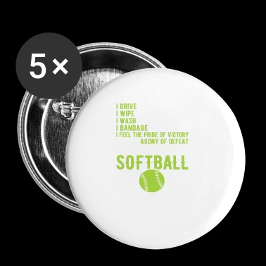 Softball - Small Buttons