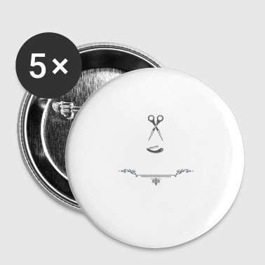Barber barber gift idea - Small Buttons