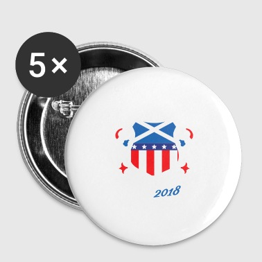 Tartan Day 2018 T Shirt - Small Buttons