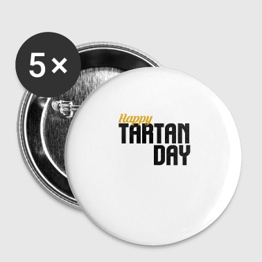 Tartan Day - Small Buttons