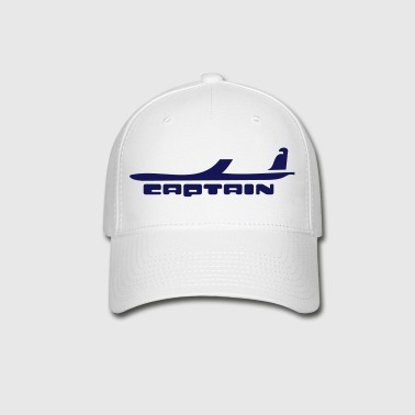 captain airplane - Baseball Cap