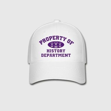 Property Of History Department - Baseball Cap