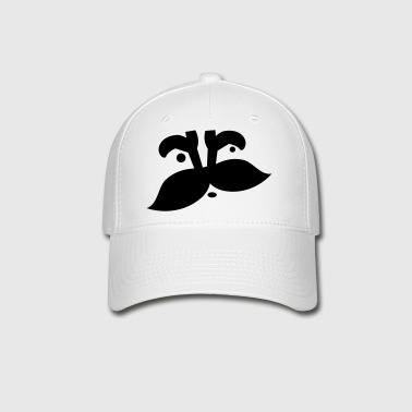 man moustache - Baseball Cap