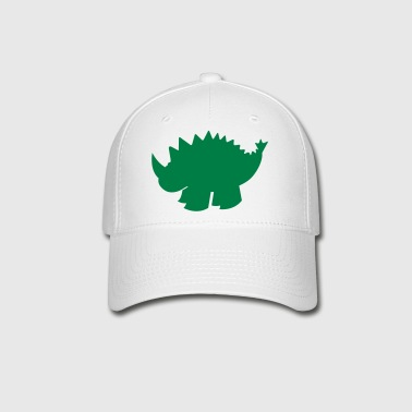 dinosaur with a spiny back - Baseball Cap