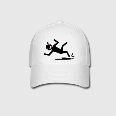 Slipin Stickman-1 small image - Baseball Cap