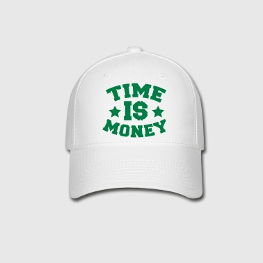 TIME IS MONEY dollars and stars - Baseball Cap