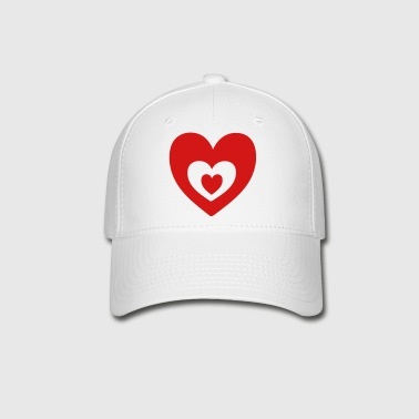 Heart in heart - Baseball Cap