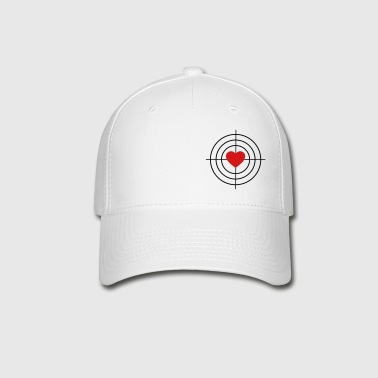 Heart is Target - Baseball Cap