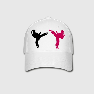 Black pink female Martial Artists adult baseball cap - Baseball Cap