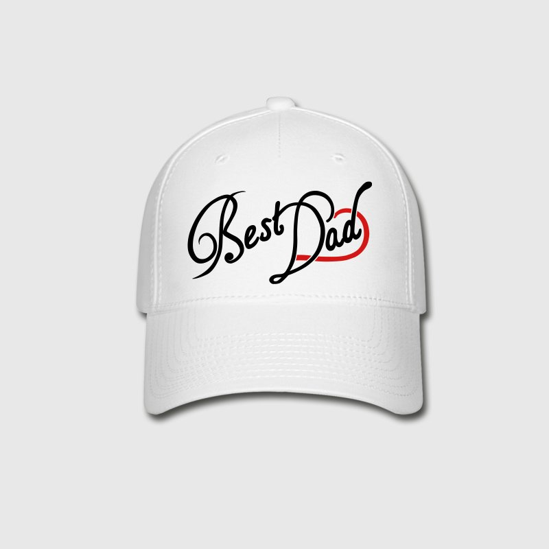 Best Dad Typography - Baseball Cap