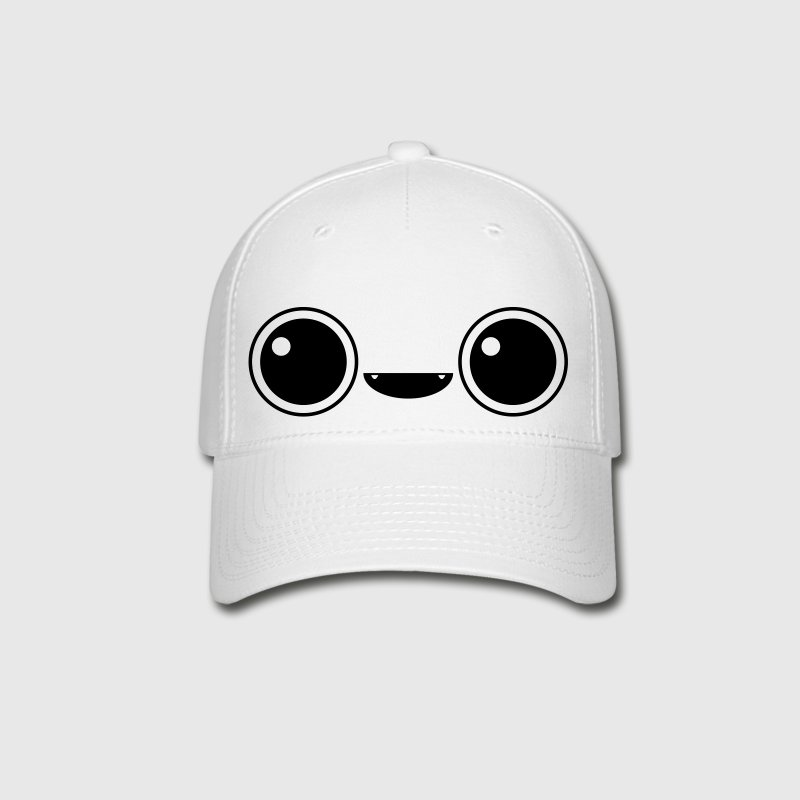 Cute adorable face - Baseball Cap