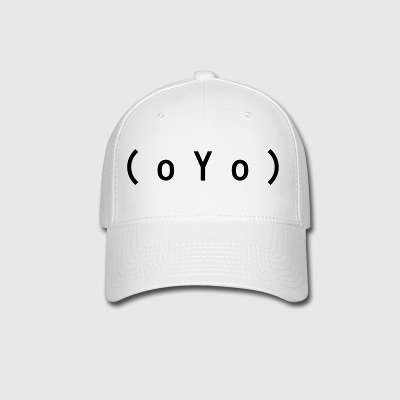 Big Tits (oYo) Boobs Sexy Text Emoticon - Baseball Cap