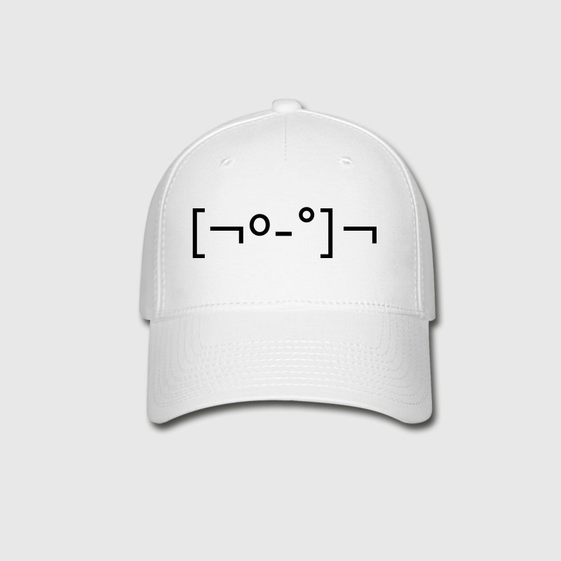 Kaomoji Zombie Japanese Emoticon - Baseball Cap