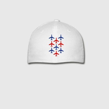 top gun planes in formation - Baseball Cap